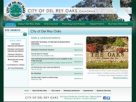 City of Del Rey Oaks